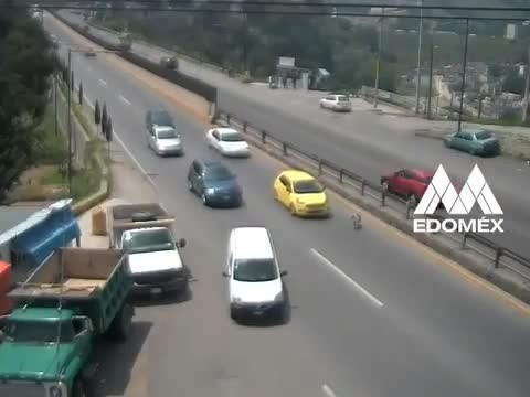 Salva a perrito en carretera del EDOMEX pero provoca terrible accidente