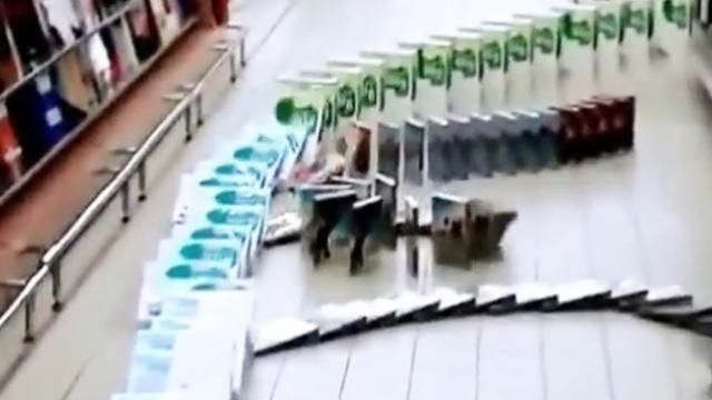 Awesome Supermarket Domino!