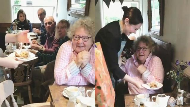 Woman's Hilarious Reaction to Free Cake on Her Birthday Is Everything