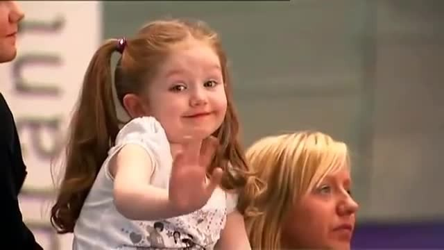 Hollie Steel, la niña que sorprendió a todos en Britain's Got Talent