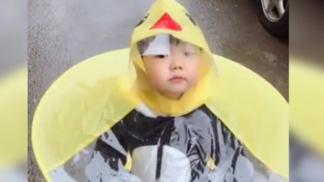 A new invention that keeps us dry from the rain—it is not only effective, but adorable as well
