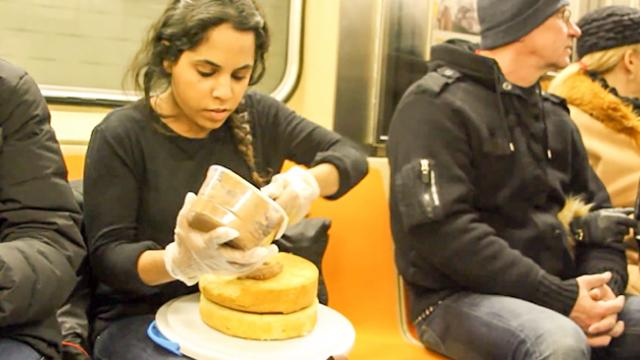 Subway Cake Performance 02_11_14