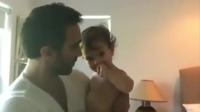 Good-Looking Dad Is Singing And Dancing With Baby Girl When Someone Else Cuts In