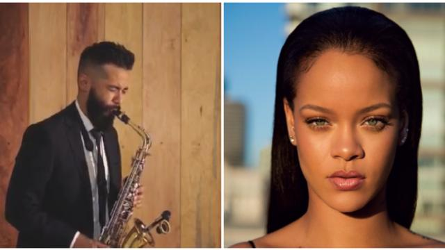 Escucha este vibrante cover en saxo de la canción 'Love on the brain' de Rihanna