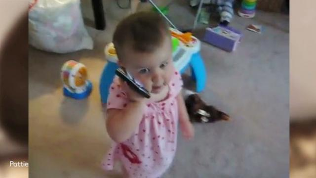 Daddy Calls His Baby Girl With Conversation Leaving Mommy Giggling Out Loud