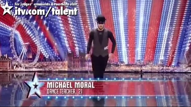 Michael, el joven francés que paso a la semi final de baile del concurso Britain's Got Talent