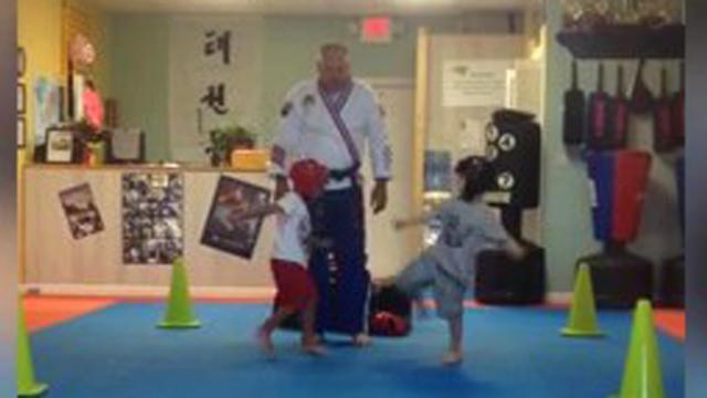 Tiny Kung Fu Masters Duke It Out In Karate Class