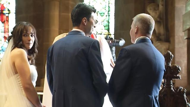 Groom Dashes Out Of The Church, Leaving Bride In Awe -