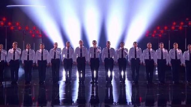 A Cappella Air Force Cadets Stun AGT Judges, Crowd