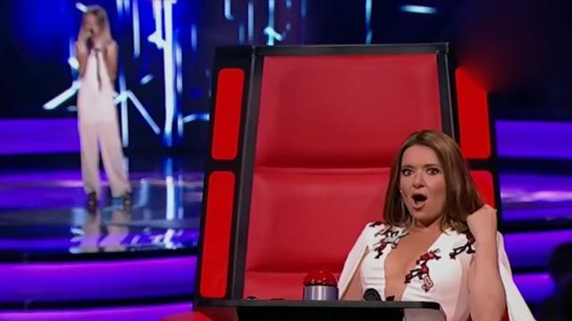 Daneliya Tulyeshova Stone Cold Blind Audition The Voice Kids
