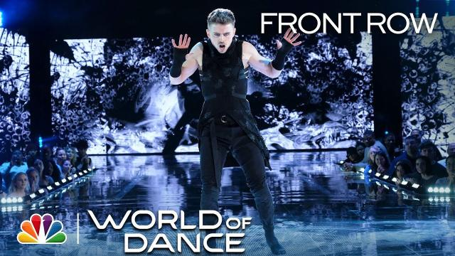 Michael Dameski asombró a todos al liberar su ninja interior en el 'World of Dance'