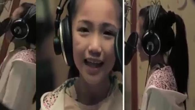 Price tag is covered by a 9-year-old girl makes many people forget the original version