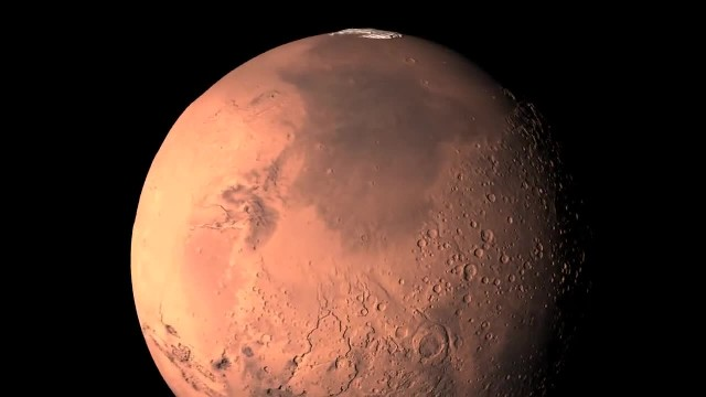 Mars 360- the north pole