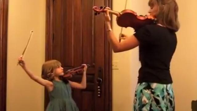 Mom Starts To Play An Incredible Piece, But Its The Daughters Music That Takes My Breath Away