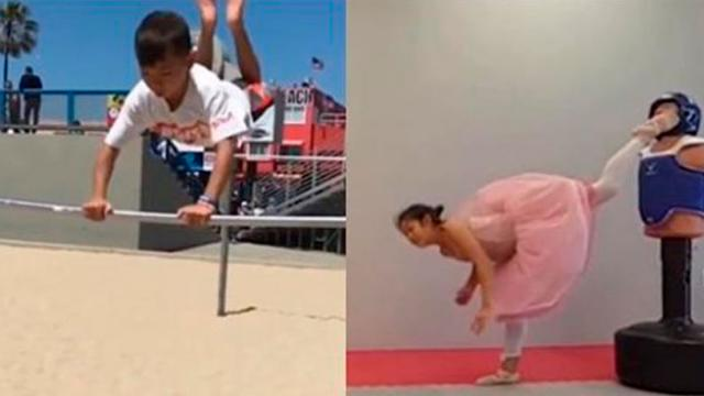 Mind Blown With Brilliant Skills and Performances of Baby Sport Stars