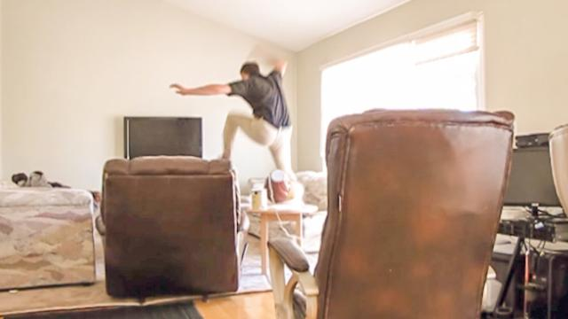 Some EPIC jumping skills
