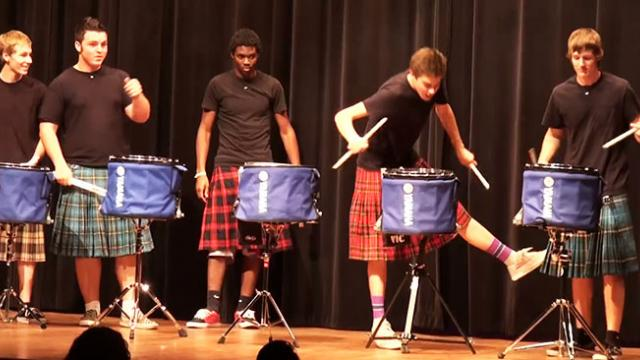 Group Of Talented Teenagers Win The High School Talent Show With This Amazing Performance