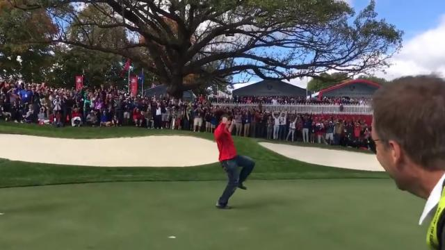 US fan challenged by McIlroy, Stenson, Rose and Sullivan [zmkh_DO6J9M]