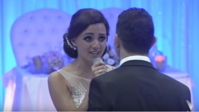 The Bride Having the More Beautiful Voice Than Any Singer Sang for Her Husband in Their Wedding Cere
