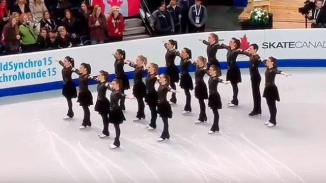 16 Young Skaters Line Up Their Moves Have The Crowd In Total Uproar