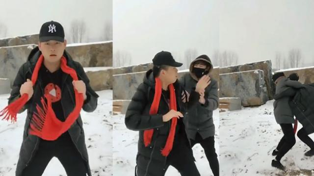 Magician Tries to Trick Viewers With This Scarf Trick
