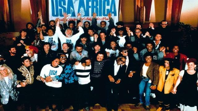 USA for Africa : We Are The World