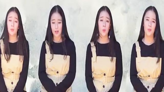 "Beautiful girl covering song 'Qing Hua Ci' with Accapella style ""melts"" netizens"