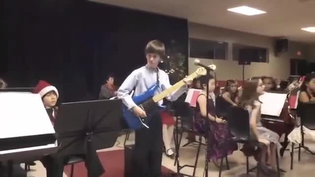 Check Out This 10-Year-Old Totally Crushing A Van Halen Guitar Solo