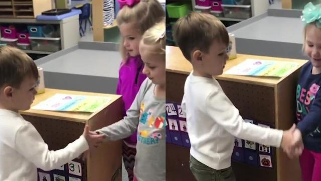 Teacher Creates Adorable Ritual For Her Pre School Class
