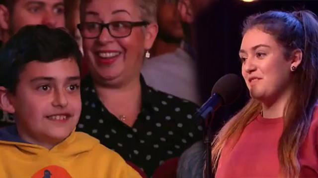 Nervous 16-Year-Old Girl Shocks Judges With Incredible Performance