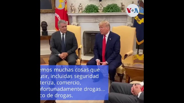 Duque pide en Washington el fin de la dictadura en