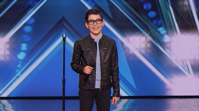 "12 Year Old Sings Passionate Version Of ""El Triste"" For ""America's Got Talent"" Audition."
