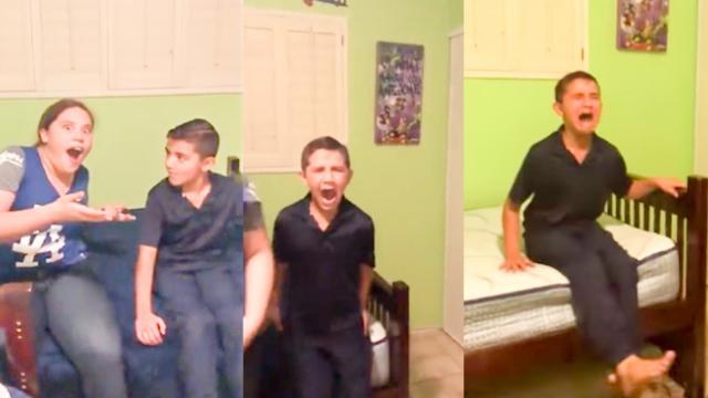 Family Trick Brother Into Thinking He's Invisible, He Comple