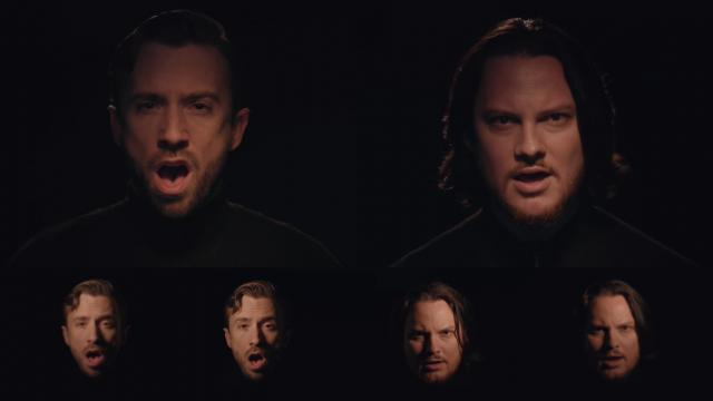 Escucha este sensacional cover a capella del icónico tema de rock, The sound of silence