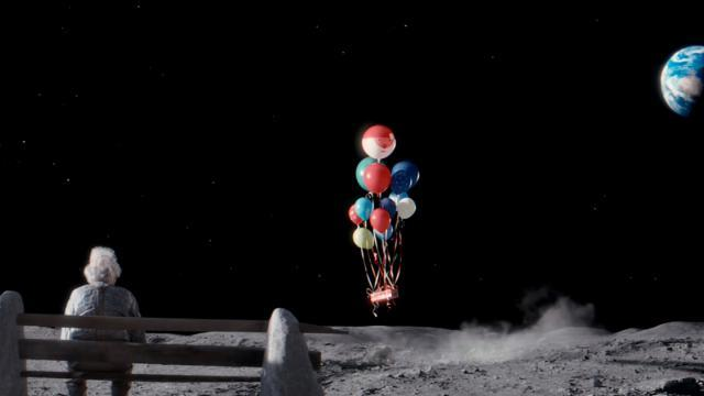 John Lewis Christmas Advert 2015 - #ManOnTheMoon