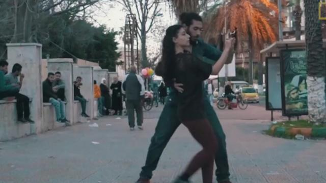 Why young Syrians are dancing in the streets