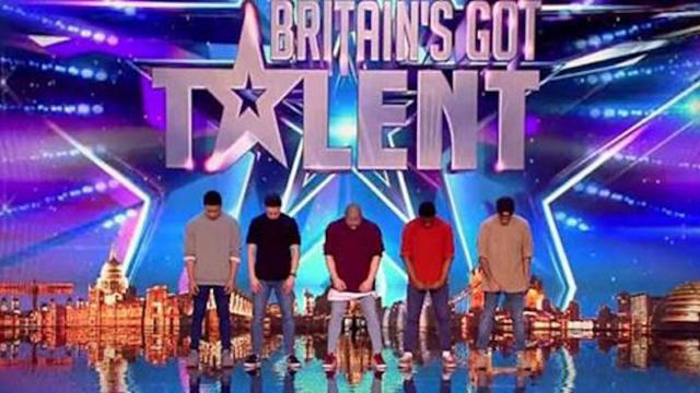 Golden buzzer act Boyband are back-flipping AMAZING! - Audition