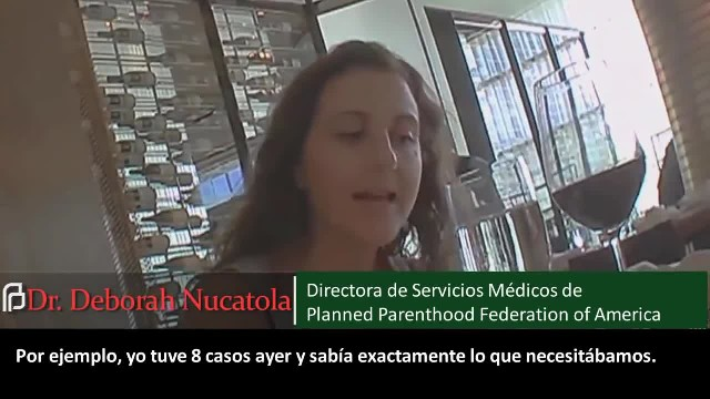 7° VIDEO EN ESPAÑOL - Planned Parenthood vende partes de bebés descuartizados